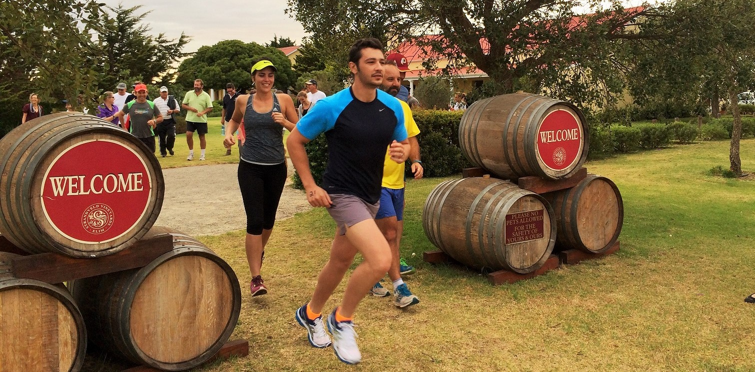 Annual Trail Run and Bubbly Breakfast-28 December